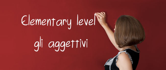 Articles - Aggettivi