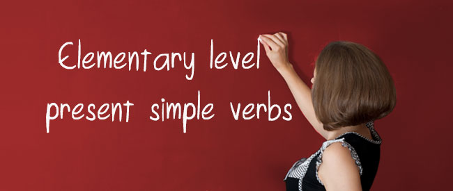 Present Simple - Verbs, positive and negative forms