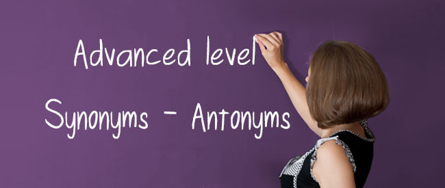 C1-C2 Synonyms-Antonyms