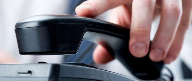 Business phone calls – Telefonare