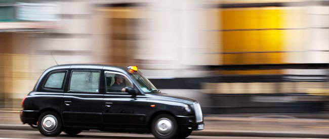 London's famous black cabs